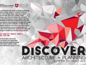 Discover Architecture + Planning Summer Session