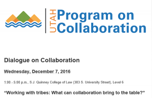 Utah Program on Collaboration