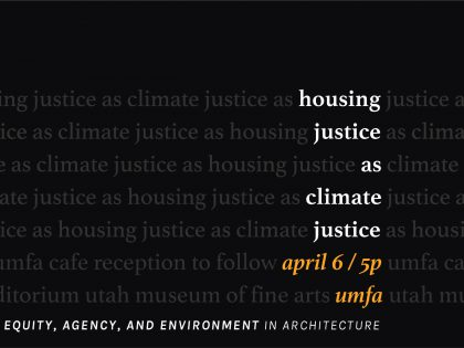 Housing Justice as Climate Justice Panel
