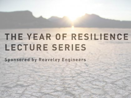 Presenting the 2019 Year of Resilience Event Series