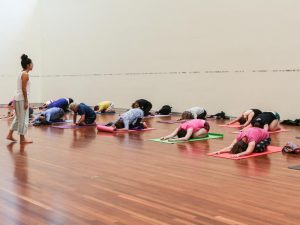 Presented by UMFA: Yoga in the Great Hall